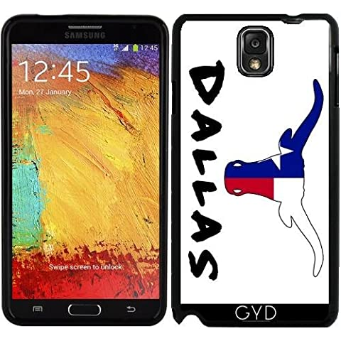 Custodia in silicone per Samsung Galaxy Note 3 (SM-N9005) - Dallas, Texas by loki1982