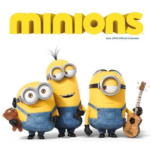 The Official Minion Movie 2016 Mini Calendar (Calendar 2016)
