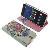 Tasche für Wiko Fever 4G Book Style Traumfänger Schutz Hülle Buch