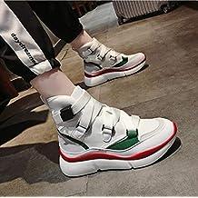 Lucdespo Señoras Calzado Deportivo Casual Hip-Hop Hip-Hop Zapatos de Malla  Zapatos de 9157114cf59