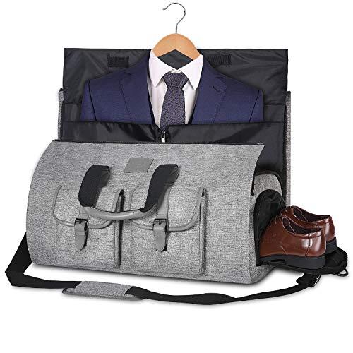 UNIQUEBELLA Uniquebella Anzugtasche, Kleidersack Reisetasche Anzugsack Umhängetasche für Herren,Flugzeug, Reisen, Bussiness,Fitness Anzug Garment Gym Bag, Sporttasche für Männer