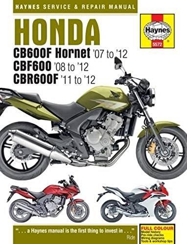 Honda CB600 Hornet, CBF600 & CBR600F (07 - 12) (Haynes Powersport) por Matthew Coombs