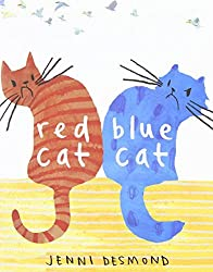Red Cat, Blue Cat by Jenni Desmond (2012-09-11)