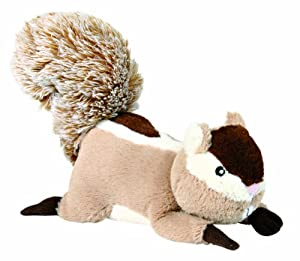 Plush Squeaky Squirrel Dog Toy (24 cm)