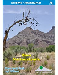Zion National Park from LeVerkin to Red Canyon - FitViewer Indoor Video Cycling USA