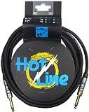 Leem Hotline Câble 3 m SS Noir