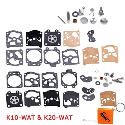 Membran-kit (HURI Vergaser Reparatursatz Kit Membrane Dichtung passend für Walbro K10-WAT K20-WAT WA WT Series)