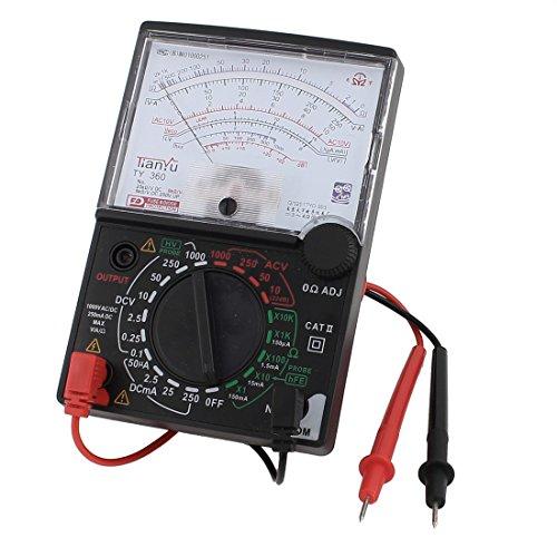 sourcing Map DC AC Spannung Aktuelle Widerstand Test analoges Messgerät Multimeter Multitest de Test Ac Spannung