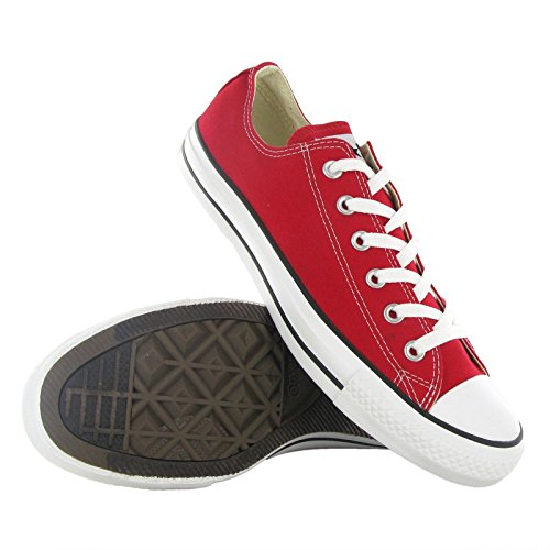 Converse AS Ox Can red M9696 Unisex-Erwachsene Sneaker, Rot (red), EU 42(US 8.5) - 9