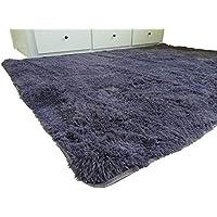 Amazinggirl Wohnzimmer Teppich Zimmerteppich Teppich Für Kinderzimmer  160x230 Farben Zum Wahl Schlafzimmer (violett, 160