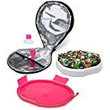 Best Smart Planet Lunch Boxes - Smart Planet Portion Perfect Ultrathin Salad Book, Red Review