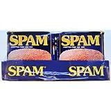 El spam de cerdo y jamón picado - 6 x 340g