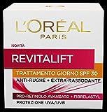 L'Oréal Paris Trattamenti Revitalift Crema Viso Giorno Antirughe con Pro-Retinolo Avanzato, Protezione Solare SPF 30, 50 ml