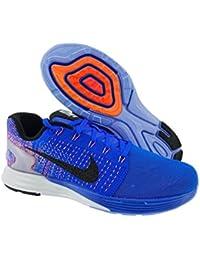 Nike Wmns Lunarglide 7 Flash, Zapatillas de Running para Mujer, Azul (Rcr Blue / Blk-Hypr Orng-Chlk Bl), 43/44 EU