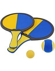 Hudora 2265772 Set de 2 raquettes Multicolore