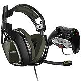 ASTROGamingA40TR Headset (kabelgebunden) mit am Controller angebrachtem MixAmpM80 Adapter für XboxOne– Grün/Schwarz