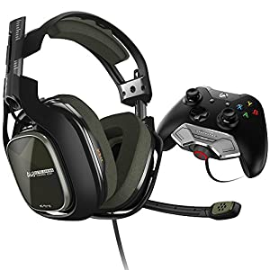 ASTROGamingA40TR (3. Generation) Headset (kabelgebunden) (mit am Controller angebrachtem MixAmpM80 Adapter für XboxOne) grün/schwarz