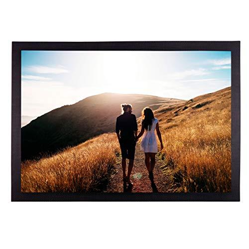 Geschenke.de Personalisierte Fußmatte mit Foto - Schmutzfangmatte mit eigenem Bild für innen und außen -