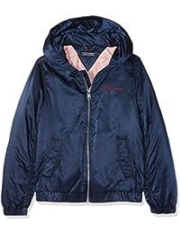 Tommy Hilfiger Essential Hooded Bomber Jacket, Chaqueta para Niñas