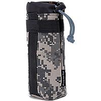 Shuzhen,Protector Plus Unisex Portatil de Nylon Resistente y Duradero para Bebida de 550 ML(Color:Camuflaje ACU)