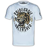 Pride Or Die–Camiseta Unleashed, hombre, color White / Grey, tamaño large