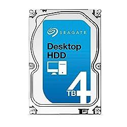 Seagate HDD 4 TB Desktop Internal Hard Drive (5.8 x 4 x 1 inches ; 1.17934 kilogram)