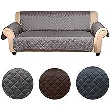 Hans-Shop Funda de Sofa/Sillon Cubre de Doble Cara Resistente a Agua/Suciedad Ideal textil para Gato/Perro/Mascota/Niños