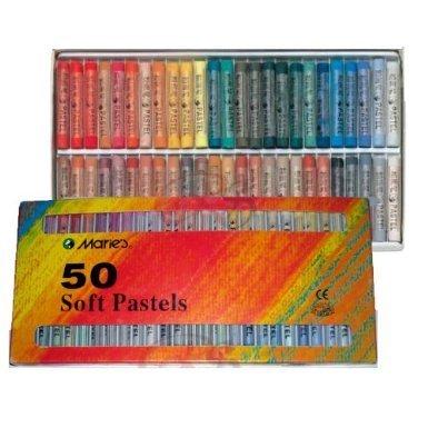kunstlerbedarf-boite-de-50-pastels-secs-maries-c-tons-chauds-et-froids