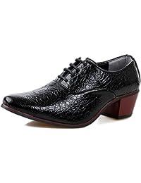 1a4f3bd1282ac5 LOVDRAM Männer Schuhe Männer Spitz Krokodil Muster Schuhe Hochhackige Hochzeit  Schuhe Business Casual…