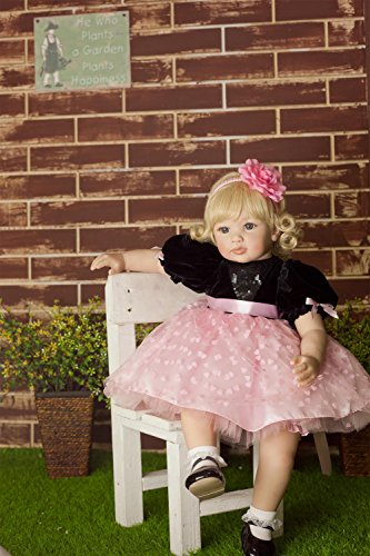 ZIYIUI 24 Pulgadas 60 cm Muñecas Reborn Realista Silicona Bebé Simulación Suave Vinilo Magnetismo Boca Recién Nacido Muñecos Hecho a Mano Regalo de cumpleaños Juguetes