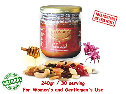 Pflanzliche Natural Kraft Paste Bitkisel Karisimli Kuvvet Macun !! AKTIONSPREIS !! Haltbarkeit bis 2021 Aphrodisiac Herbal mix Potenzhilfe 240gr Themra