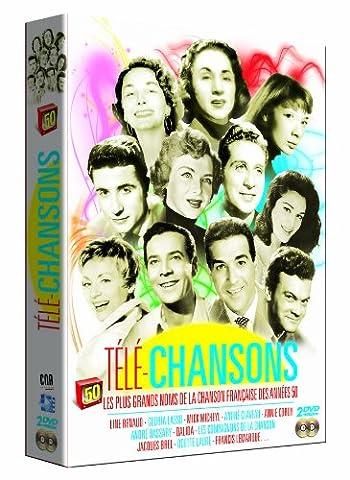Télé-Chansons, Vol. 1 et Vol 2 - Les Plus Grands noms de la Chanson Française des Années 50
