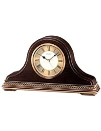 Seiko Amazonukkitchen Mantel Clock, plastica, Brown, 31.4 x 7.6 x 19.7 cm