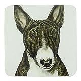 4 x Waggy Dogz Englischer Bullterrier Hund Welpe Made in UK Geschenk Qualität Untersetzer