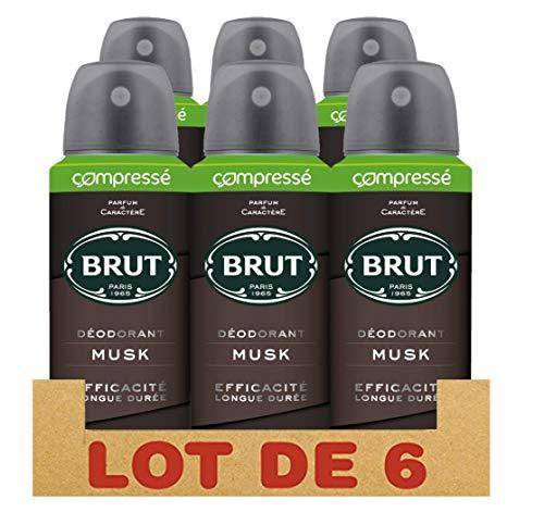 Axe Brut Deodorant Herren Spray komprimiert Musk 100 ml - 3 Stück -