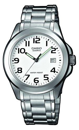 CASIO MTP1259D7BVEF - Reloj de Caballero de Cuarzo, Correa de Acero Inoxidable Color