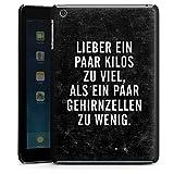 Apple iPad mini 3 Hülle Schutz Hard Case Cover Gewicht Humor Sprüche