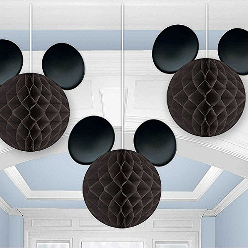 Amscan International 293844 Mickey Mouse Honeycomb Dekoration (Mickey Mouse Dekorationen)