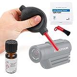 DURAGADGET Set de limpieza para Videocámara Contour Roam 3 | Ion Air Pro 3 | TomTom Bandit | Vivitar DVR908MFD
