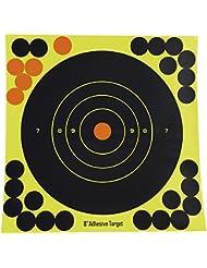Airsoft Magic 258pulgadas–Objetivo (objetivos de disparo para Airsoft AEG GBB–negro/amarillo