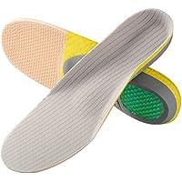 SOUMIT Sport Einlegesohlen   Komfortable Schneidbare Schuhe Pads with Stoßdämpfung, Fersenschutz und Fußbogenstütze... preisvergleich bei billige-tabletten.eu