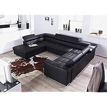 Couch u form 3m  Suchergebnis auf Amazon.de für: wohnlandschaft u-form