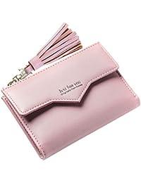 Damen Mädchen Segeltuch Münze Geldbörse Geldbeutel Minibörse Mode Mini Portmonee