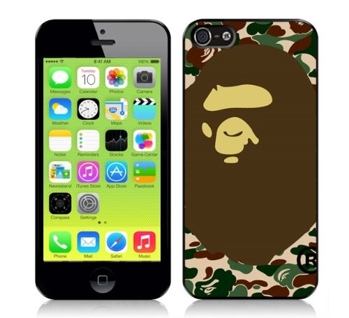 Bape iPhone 5 Case A Bathing Ape Camo Cases & Co., used for sale  Delivered anywhere in UK