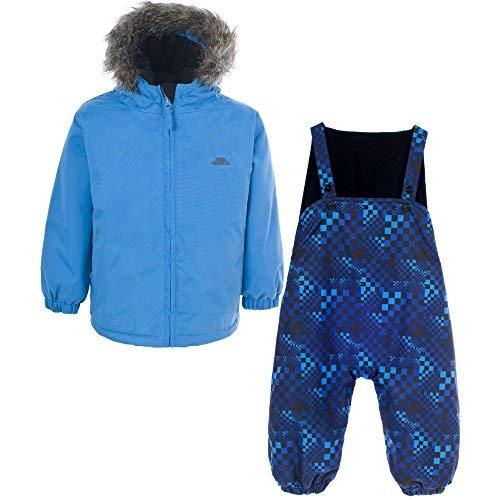 Trespass, Unisexe, Enfants Iggle Baibies Combinaison de Ski, 6/12, Cobalt