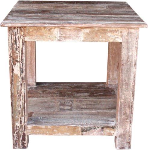 Guru-Shop Table D'appoint de Collection JH8-577, Teck, 60x60x60 cm, Tables Basses