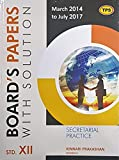 Secretarial Practice - TPS 12th Board Papers with Solution