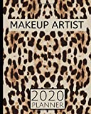 Makeup Artist: 2020 Planner For Makeup Artists and Makeup Lovers, 1-year Daily, Weekly and Monthly Organizer With Calendar (8' x 10')