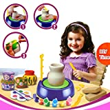 Imaginative Arts Pottery Wheel Game Activity Set Toy for kids