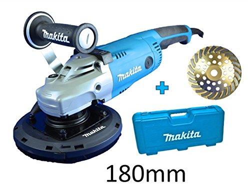 Preisvergleich Produktbild Makita / Baltic-Tools-Kiel Betonschleifer Set 180mm inkl. Koffer